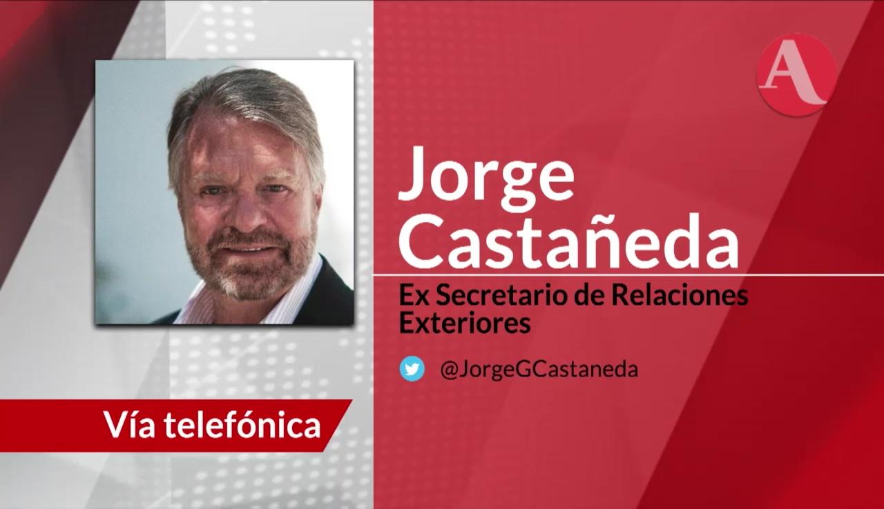 Entrevista con Jorge Castañeda, ex canciller mexicano, sobre la renegociación del TLC