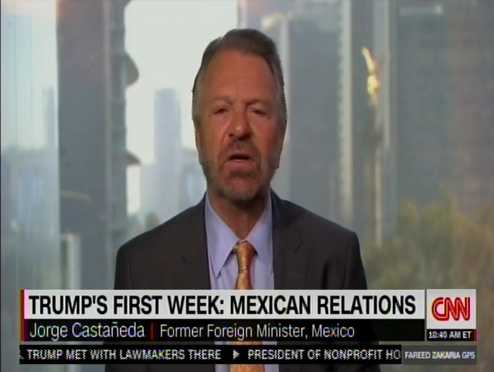 Trump's First Week: Mexican Relations
