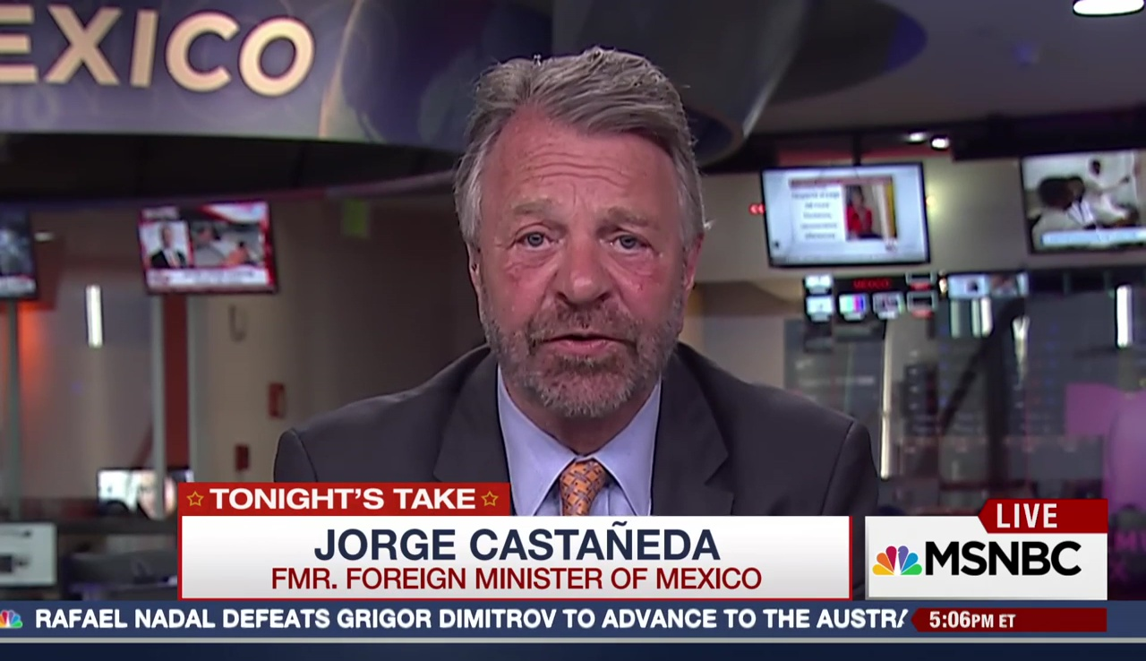 Trump is 'Playing With Fire:' Fmr. Foreign Minister of Mexico